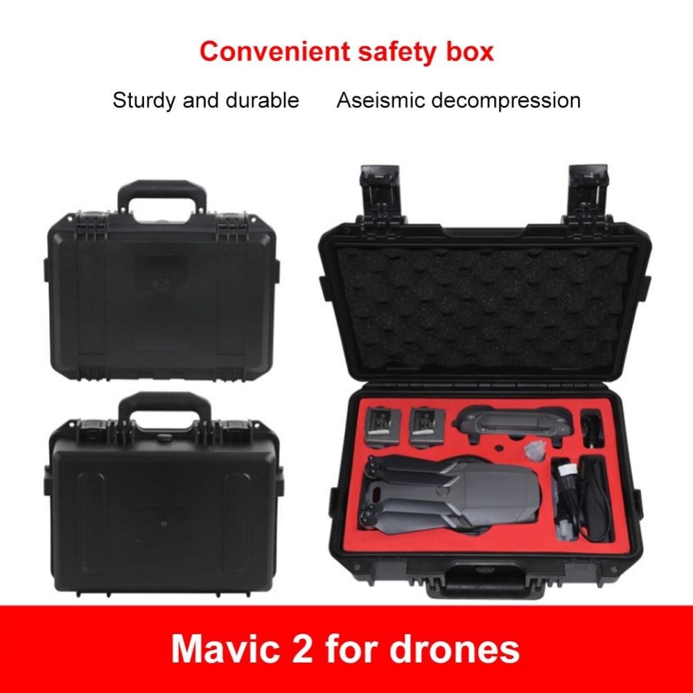 Защитный чехол для DJI Mavic 2 Pro DJI Mavic 2 Zoom Box водостойкий жесткий АБС взрывозащищенный чехол для переноски аксессуары для Дронов