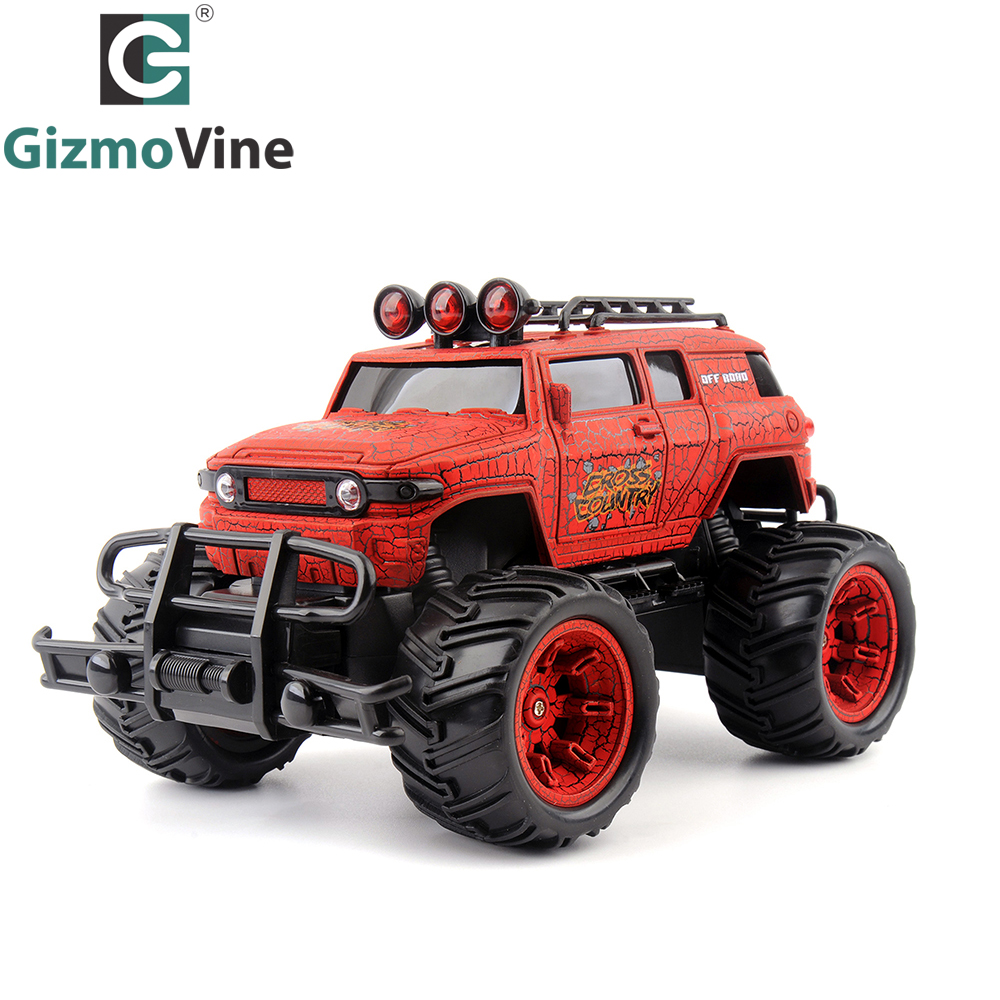 GizmoVine 1/20 RC Car Cross Country Truck Radio Control 27MHZ Monstertruck Off Road RC Toys
