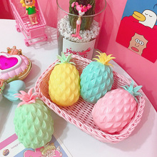 1 pc Anti-stress Squishy Pineapple Super Slow Rising Squeeze Toys 11x6.5cm Cute PU Squishy Fruit Pineapple Toys for Kids Adult