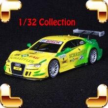 Presente de Ano novo 1/32 Modelo De Liga Leve De Corrida Brinquedos Coleção Modelo de Simulação Em Escala Veículo Decoração Presente Especial Do Carro de Esportes