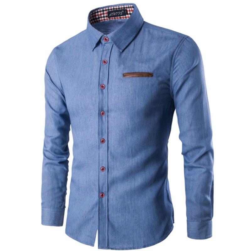 Men Shirt Pocket Fight Leather 4