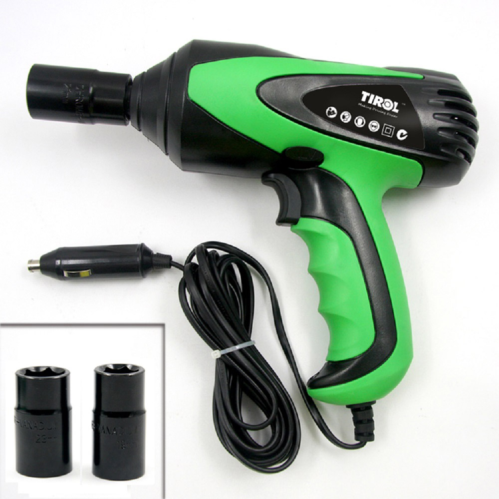 Car-styling T20827 Electric Impact Wrench Car Tire Repair Tool Installation Wrench