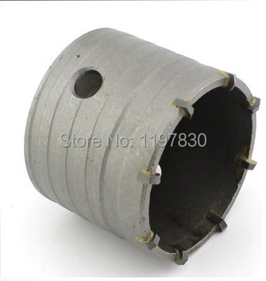 Free shipping 1PC carbide tipped wall hole saw 90*72*M22 strengthened electric Hammer hole saw for wall 60mm tungsten carbide tipped stainless