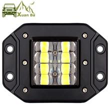 5 인치 6D 렌즈 스트로브 Led 작업 빛 플러시 마운트 지프 자동차 트럭 Suv 4x4 오프로드 방수 홍수 빔 작업 운전 조명