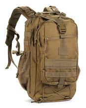 Outdoor Canvas Backpack Hiking Camping Rucksack Heavy Duty Daypack School for Men and Women