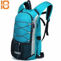 TENNEIGHT Outdoor sports bag female lightweight shoulder riding bag men water bag waterproof Hiking Cycling Camping backpack 12L