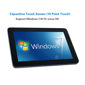 Image 4 - Yanling Rugged Industrial Tablet PC Intel J1900 2 Lan Desktop All in one Computer 10.1 Capacitive Touch Screen For Windows 10