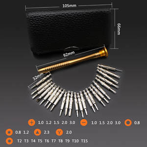 Screwdriver-Set Watch Repair-Tool Precision Electronic Mini Small 25-Pc Jewelry Herramientas