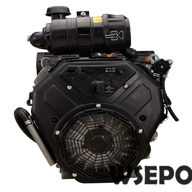 Factory Direct Supply WSE-2V90F 999CC 35HP 21KW V Twin Cylinder Air Cool 4 Stroke Gas Engine,used for Generators,Driller,Washer aluminum water cool flange fits 26 29cc qj zenoah rcmk cy gas engine for rc boat