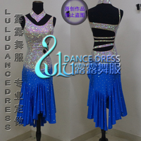 Ballroom Latin Swing Rumba Samba Chacha Dance Dress US 8