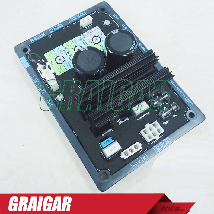 Generator AVR R450M Automatic Voltage Regulator aliexpress com buy generator avr r450m automatic voltage r450m avr wiring diagram at fashall.co
