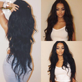 Silk Top Full Lace Human Hair Wigs For Black Women Brazilian Deep Body Wave Silk Base Lace Front Human Hair Wigs With Baby Hair