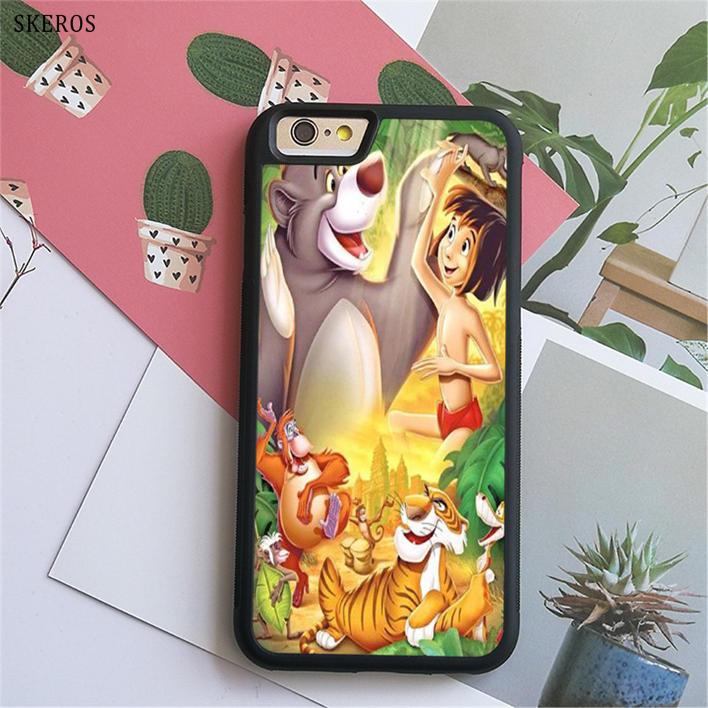 SKEROS The Jungle Book 8 (2) phone case for iphone X 4 4s 5 5s 6 6s 7 8 6 plus 6s plus 7 & 8 plus #B756