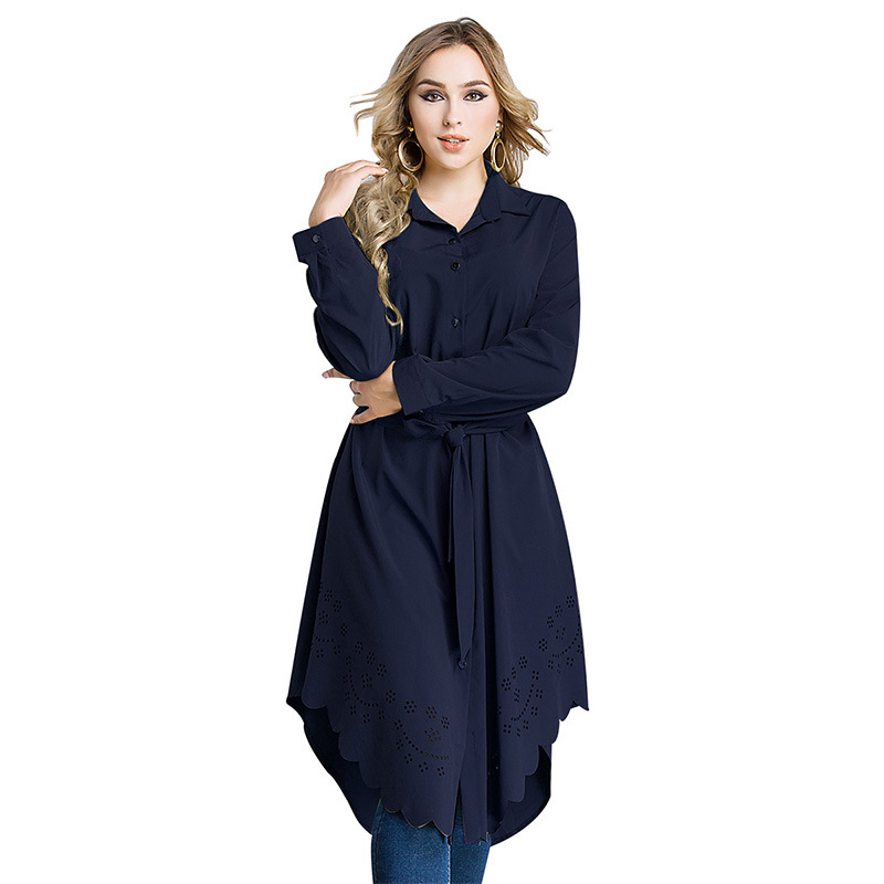 Arabic Women Dress Loose Belted Robe Femme Islamic Clothing Cardigan Malaysia Turkish Pakistani Fashion  Plus Size Muslim Dress (2)