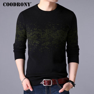 Image 3 - COODRONY Sweater Men Casual O Neck Pullover Men Clothes 2020 Autumn Winter New Arrival Top Sost Warm Mens Cashmere Sweaters 8257