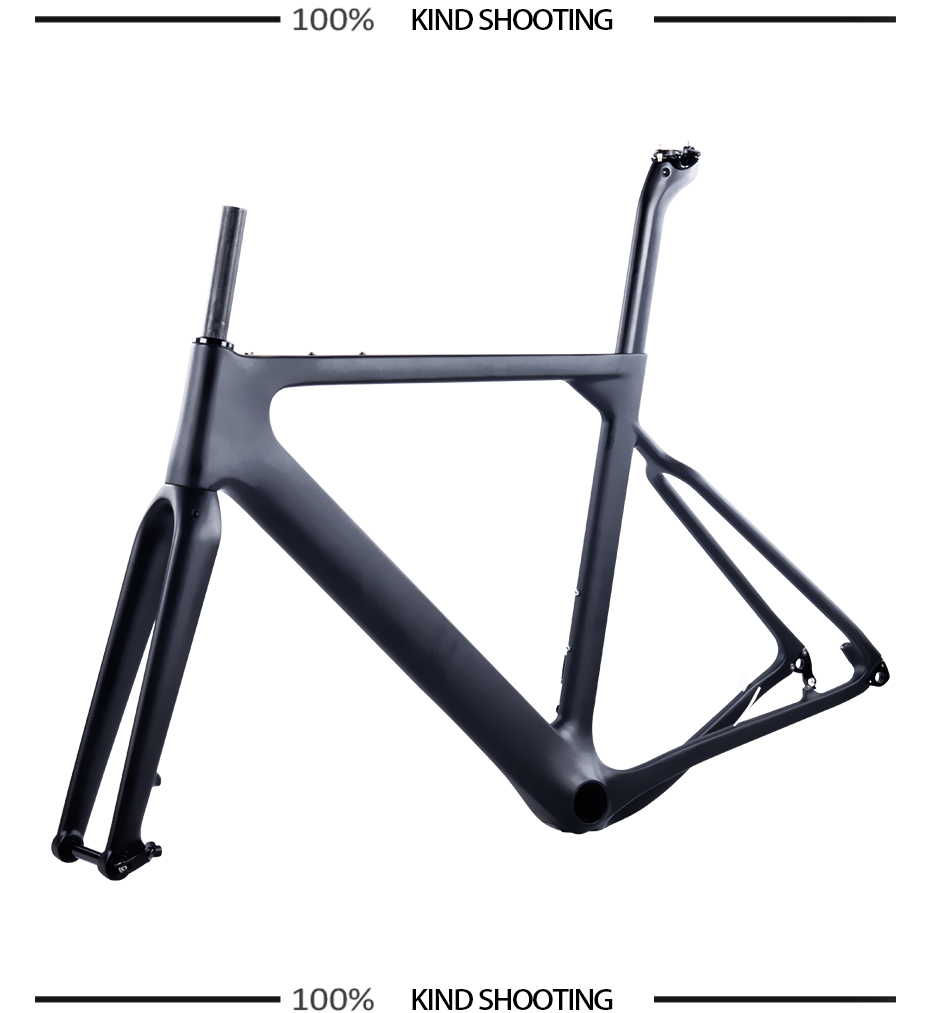 Carbon Bike Frame >> Us 585 0 10 Off 2018 New Bxt Carbon Gravel Bike Frame Aero Road Or Mtb Frame 142x12mm Disc Brake Cyclocross Gravel Carbon Bicycle Frame In Bicycle