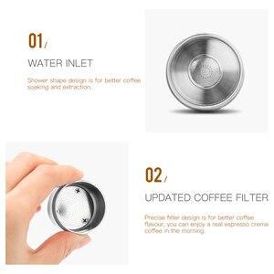 Image 4 - Icafilasstainless鋼再利用可能なイリーコーヒーフィルター改ざんセット詰め替えカプセルカップポッド改ざんためイリーX9 X8 X7.1 Y5 Y3 y1.1