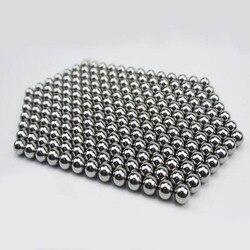 100 pcs/Lot 6mm 7mm 8mm balles en acier utilisé pour la chasse de haute qualité fronde en acier inoxydable fronde balles frappant des munitions