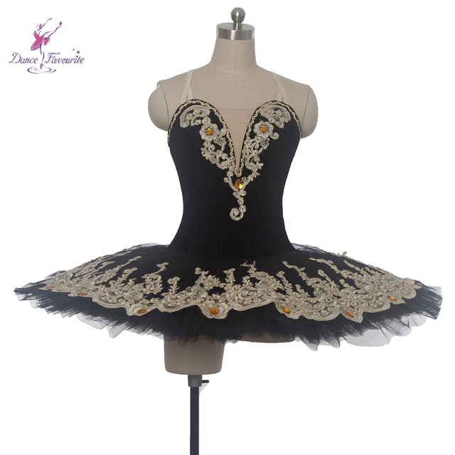 e2099344a New Elegant Black Classical Pancake Ballet Tutu,Women/Girl Ballerina  Professional Dance Costume in Stage Performance/Competition