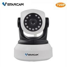 VStarcam C7824WIP Onvif 2.0 720 P IP Камера Беспроводной Wi-Fi видеонаблюдения Камера HD Крытый панорамирования/наклона ИК-Ночное видение Поддержка 64 г SD карты