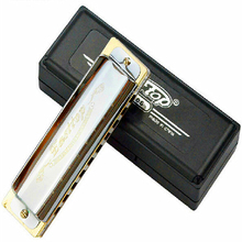 Easttop 10 holes Harmonica Diatonica 10 Mouth Harp T008 Armonica professional Music Instruments Harmonica 12 Keys to choose