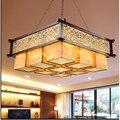 Китайский стиль  подвесной светильник для гостиной  антикварный  для отеля  ресторана  работы  новый китайский ресторан  площадь  CL ZS77 LU1019