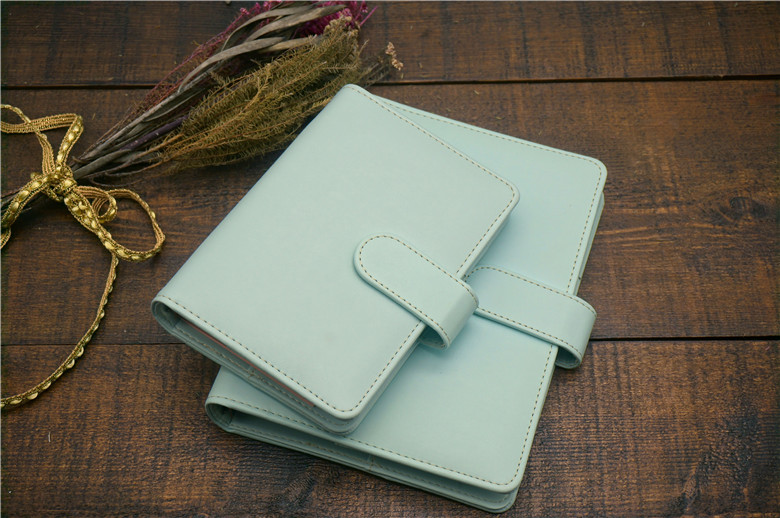 Spiral loose leaf binder refillable travel journal notebook filofax planner agenda notepad binder A5 A6 student lovely gift pu leather spiral loose leaf refillable travel journal zipper dokibook notebook filofax planner agenda notepad binder a6
