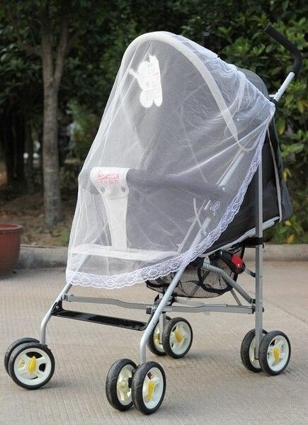 Systematisch Durch Dhl 1000 Stücke Hohe Qualität Universal Spitze Sicher Kinderwagen Insekt Moskitonetz Oder Kinderwagen Wiege Bett Net