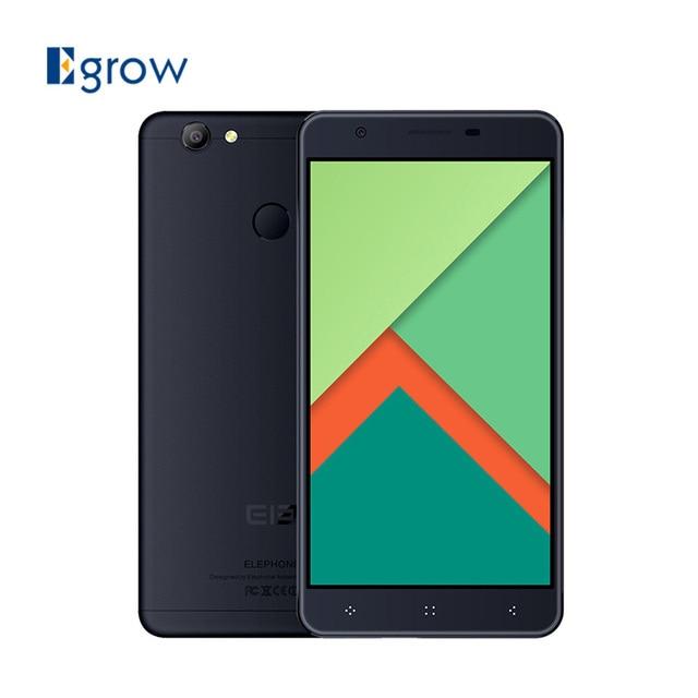 Original Elephone C1X MTK6737 Quad Core Android 6.0 Mobile Phone 5.5 Inch Cell Phone 2G RAM 16G ROM Unlock 4G Smartphone
