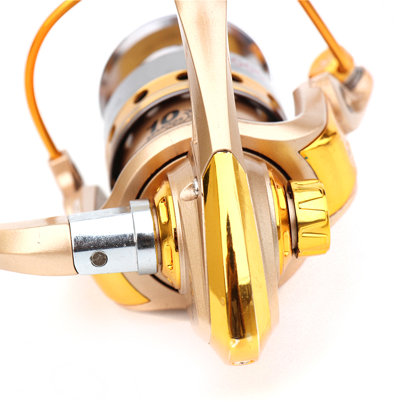 New Spinning Reel Fishing pesca coil Fishing Reel Golden Metal Spool - Fishing - Photo 6