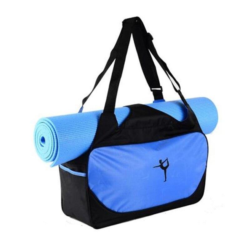 Prix pour Yoga Sac À Dos Étanche Épaule Messenger Sport Sac À Main Pour Femmes Fitness Duffel Gym Sac (Aucun Tapis De Yoga)