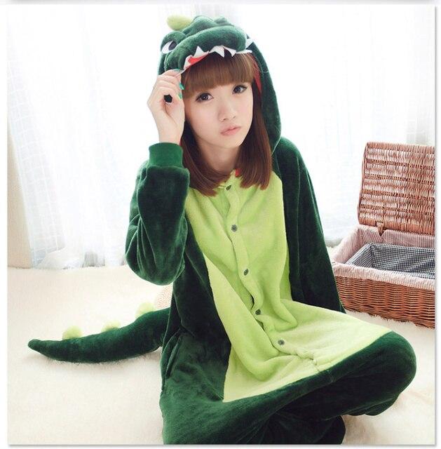 Franela animal Lemur dragón dinosaurio pijamas anime Cartoon trajes ropa de  dormir Cosplay onesie Cartoon mono 75e8ab5e09ff