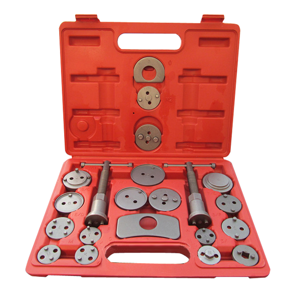 21 Pieces Automotive Disc Brake Piston Caliper Pad Set Car Wind Back Hand Tool Kit