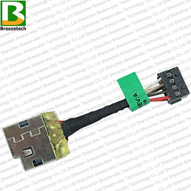 5PCS / lot Բնօրինակ նոթբուք DC Power Jack - Համակարգչային մալուխներ և միակցիչներ - Լուսանկար 3