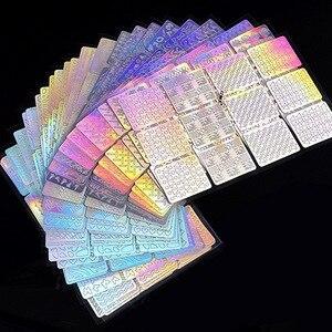 144Tips 24Sheets Laser Nail Ar