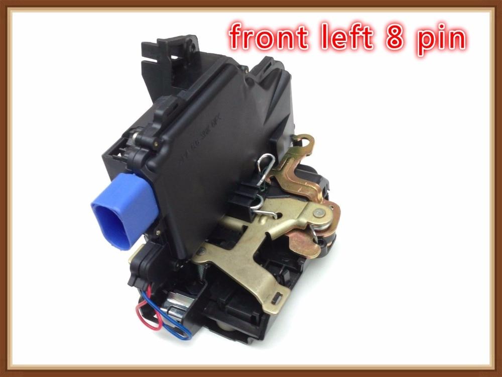 Front Left Door Lock Mechanism For Vw New Beetle Polo 9n