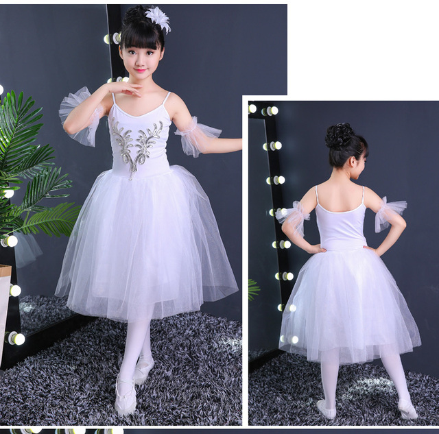2ef8a60f27ee Romantic Tutu Dress Kids Classic Ballet Tutu Child Swan Lake ...