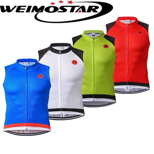 Cheap Weimostar Summer Cycling Vests mtb ropa ciclismo Pro Riding Bicycle  Vest Keep Dry Undershirt Cool 2811bd195