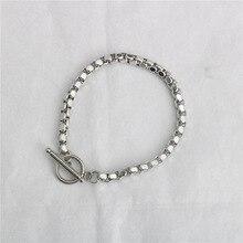 New Stainless steel bracelet/couple/women/bileklik/femmeStainless Steel Bracelet Bangle pulsera hombre for women mens bracelets