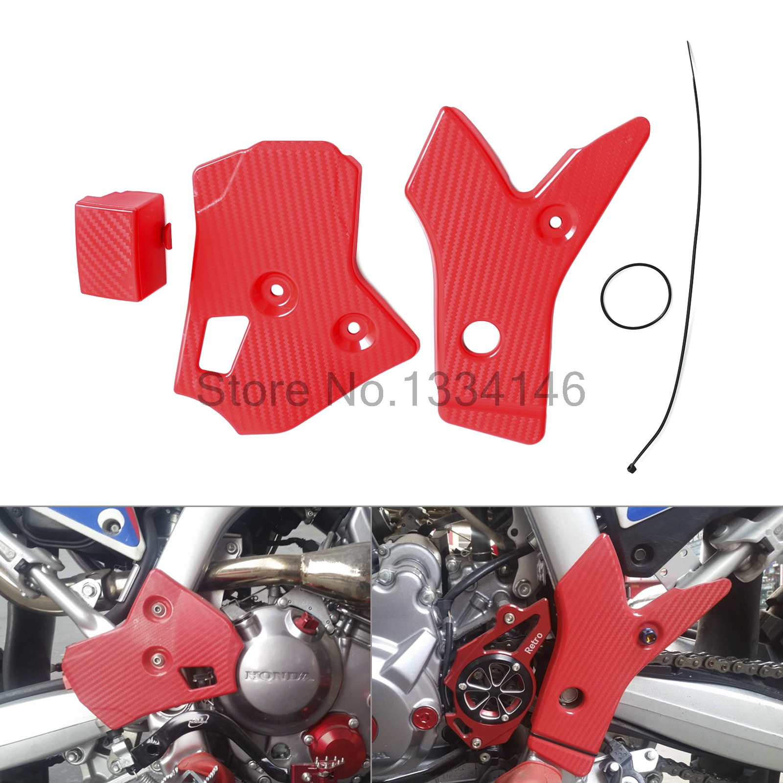 Motorcycle Frame Protector Guard  For Honda CRF250L CRF250M 2012 2013 2014 2015 motorcycle radiator protective cover grill guard grille protector for kawasaki z1000sx ninja 1000 2011 2012 2013 2014 2015 2016