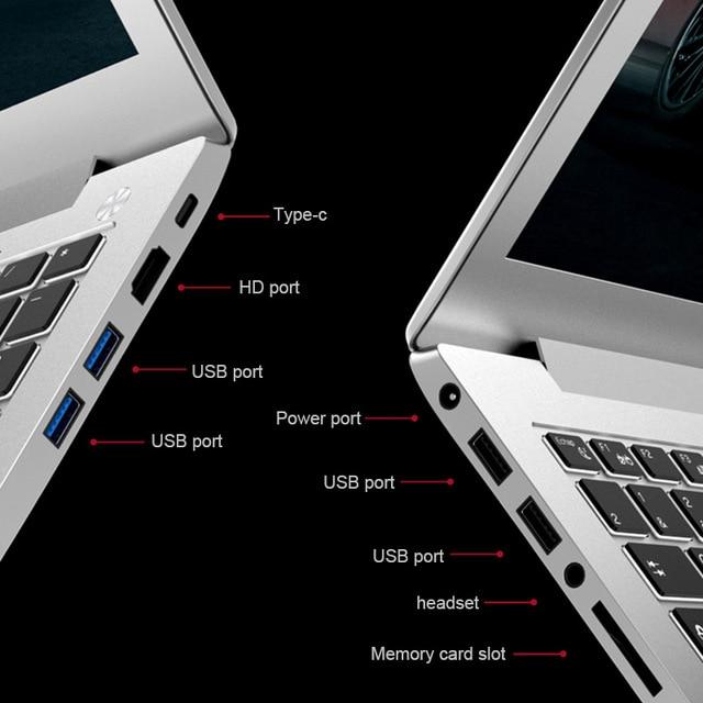 "P10 Laptop laser custom logo 15.6"" Intel i7-6500U 8G/16G RAM 128/256/512G SSD NvIDIA GeForce 940M computer with Backlit keyboard 4"