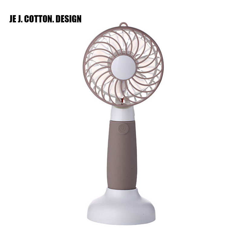 Handheld USB Fan Air Conditioner Conditioning with Rechargeable Battery Portable Mini Table Air Fan Cooling Ventilador for Home portable cooling fan with mini usb cute mermaid handheld rechargeable practical for office home school use