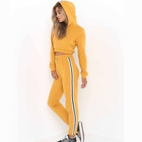 Spring Autumn Tracksuit Women Two Piece Set Hoodies Sweatshirt And Pant Female Casual 2 Piece Set