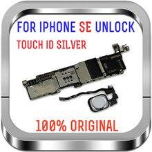16gb / 32gb / 64gb için unlocked iphone SE anakart parmak izi ile mantık kurulu ile/olmadan dokunmatik kimlik
