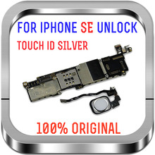 16gb / 32gb / 64gb סמארטפון עבור iphone SE האם עם טביעת אצבע היגיון לוח עם/ללא מגע מזהה