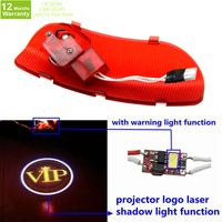 OCSION 2X Car Logo Ghost Shadow Light Laser Projector Lights For KIA Cerato Sorento K5 Optima