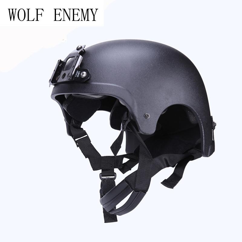 IBH шлем с ОНВ Goggle горе Navy SEAL Тактический Армии Велоспорт Охота Wargame sakte Для мужчин спорта на открытом воздухе для верховой езды Cascos cislismo
