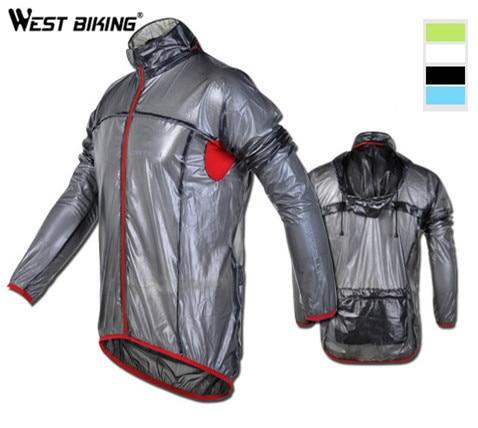 где купить WEST BIKING Waterproof Windproof 2014 Cycling Wind Dust Jacket Mountain Bike Clothing Jersey MTB Bicycle Raincoat For Women Men по лучшей цене