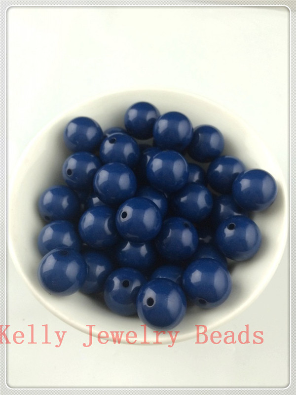 Jewelry & Accessories Beads Motivated 3000pcs/lot 6mm Dark Blue Acrylic Gumball Beads Cute Acrylic Solid Chunky Beads For Jewelry Making Necklace Bracelet Diy Beads