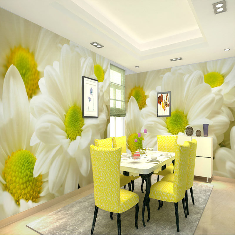Custom Photo Wallpaper Modern 3D Stereoscopic Relief Flower Living Room TV Background Wall Painting Home Decor Wallpaper Mural